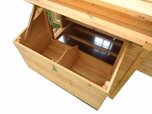 Chicken Nest box for Betty, Gertrude and Nelly Coop dirt tray