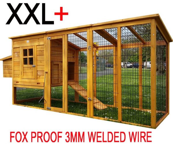 Windsor - XXL 8ft Large Fox Resitsant Chicken Coops product