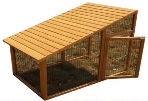 wooden chicken run extension product