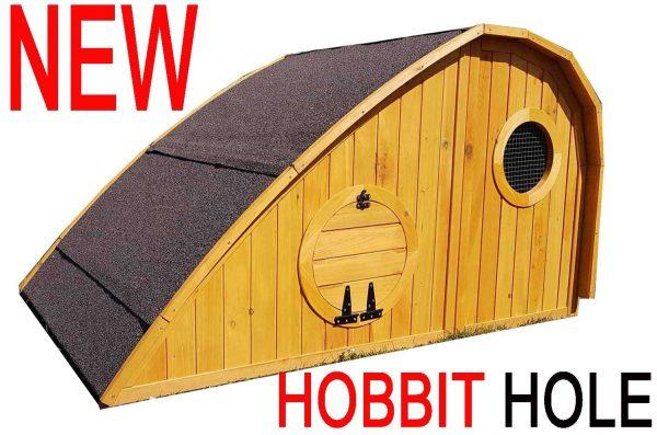 Hobbit Hole Chicken Coop / Rabbit Hutch