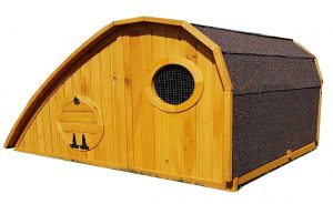 Hobbit Hole Chicken Coop / Rabbit Hutch