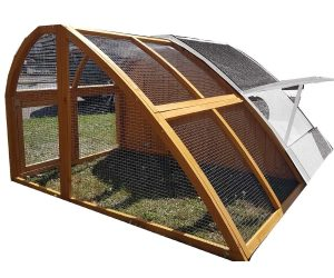 Run for Hobbit Hole Chicken Coop / Rabbit Hutch