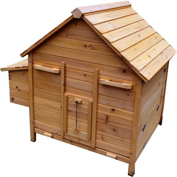 Betty Air - Fox Resistant Chicken House With 3mm Wire - Now With Opening Roofs For Easy Cleaning & Access