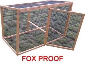 Buckingham Extension run - Fox Resistant 1.4m with 3mm wire