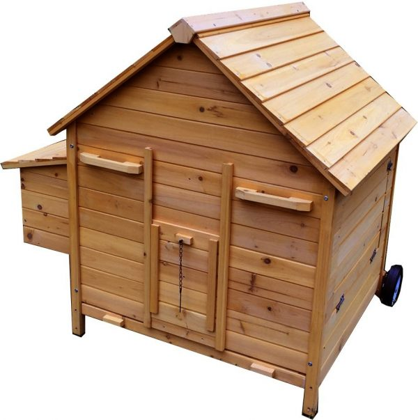 Betty Air Portable - Fox Resistant Chicken House closed