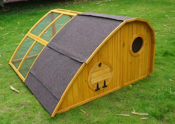 Chicken Coop + Chicken Run – Hobbit Hole Design