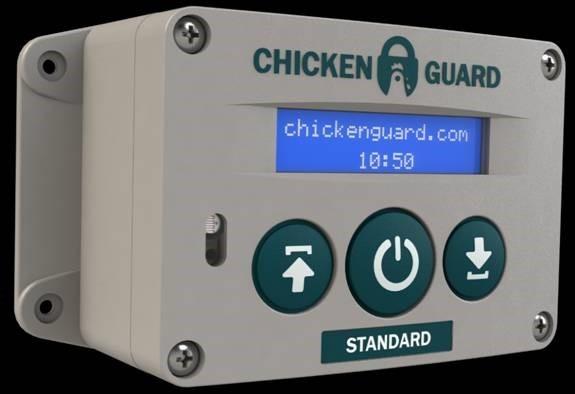 ChickenGuard Automatic Door Opener at work