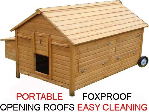 Nelly Air Portable - Fox Resistant Chicken House advertising