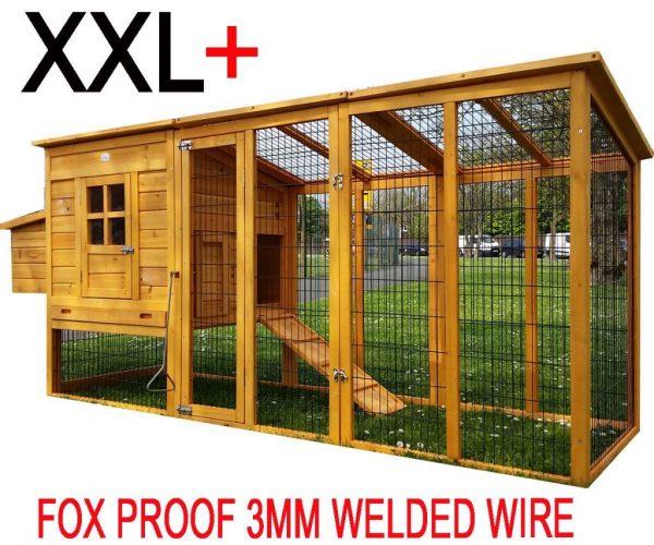 Windsor Portable - XXL 8ft Large Fox Resistant Chicken Coop